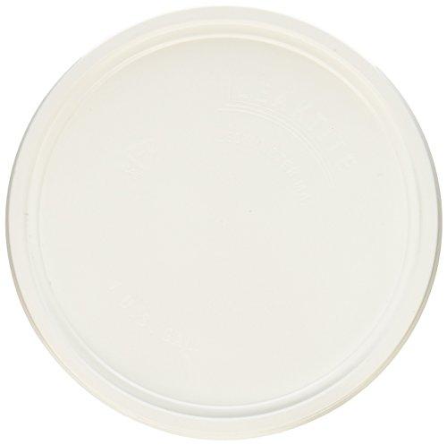LEAKTITE 1GLD Gallon lon White Plastic Pail Lid