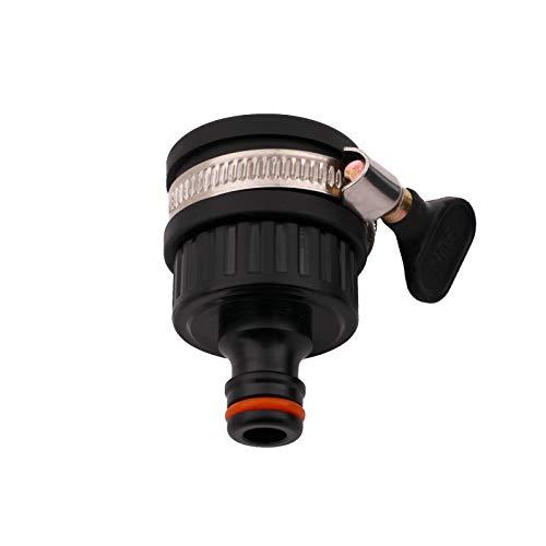 BFG 22 - 24 mm Durchmesser, Universal-Wasserhahn-Adapter, Verbindungsstück, Mischbatterie, Gartenschlauch, Rohr-Verbinder.