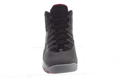 Nike Air Jordan 10 Retro (GS), Zapatillas de Deporte Mujer, Multicolor (Dk Smoke Grey/Rush Pink/Black/Iron Grey 006), 36 EU