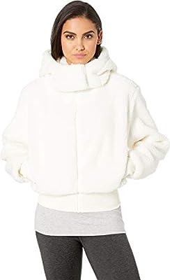 Alo Yoga womens Foxy Sherpa Jacket, Pristine, Small US