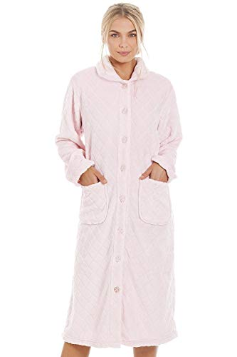 Camille Femmes Divers House Housecoats 50/52 Diamond Pink