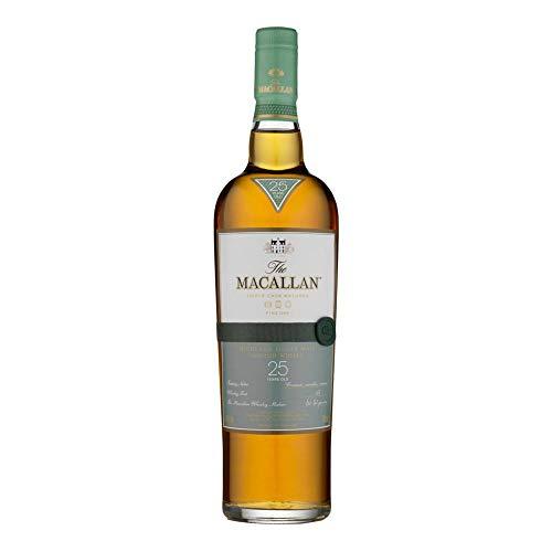 Macallan 25 Year Old Single Malt Scotch Whisky