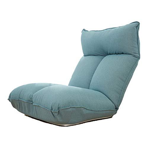 Single Adjustable Sofa, Home Adjustable Folding Leisure Sofa Bed, Floor Recliner,13 Memory Foam Floor Chairs, Home Office Living Room Bedroom Floor Lazy Sofa Bed,D