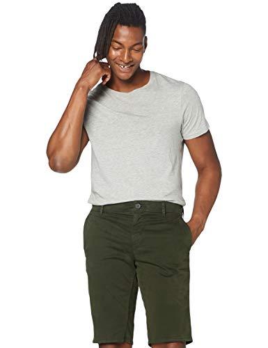 BOSS Herren Schino-Slim Shorts, Grün (Open Green 346), W33(Herstellergröße: 33)