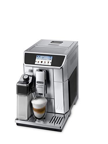 De'Longhi PrimaDonna Elite Experience, Cafetera Automática de Grano, Cafetera para Espresso y Capuchino, Acero Inoxidable,...