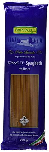Rapunzel Kamut Spaghetti Vollkorn, 4er Pack (4 x 500 g) - Bio