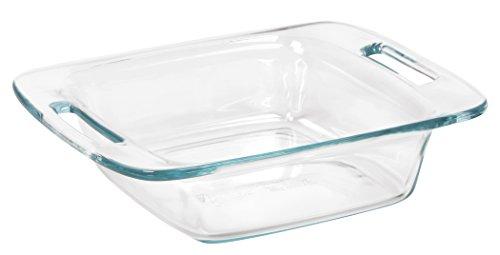 "Pyrex Easy Grab 8"" Glass Bakeware Dish"