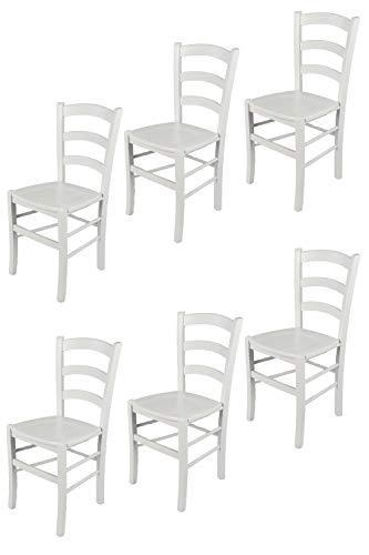 t m c s Tommychairs - Set 6 sillas Venezia para Cocina...