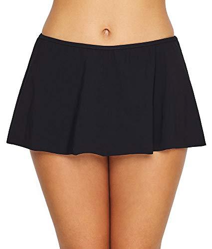 Profile by Gottex Women's Skirted Swimsuit Bottom, Tutti Frutti Black, 16