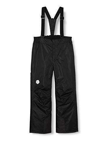 Color Kids Unisex Ski Pants solid Schneehose, Black, 92