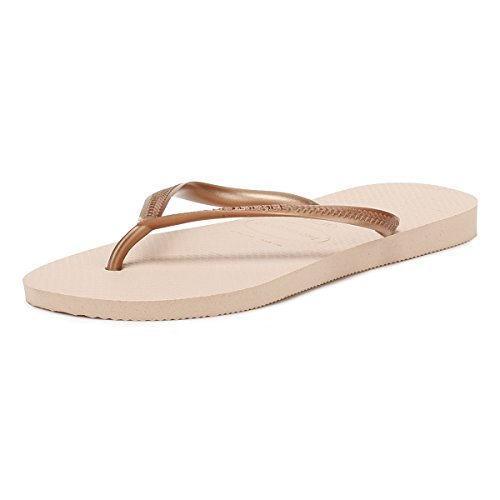 Havaianas Womens Slim Flip Flop Sandals - Rose Ballet - 7/8