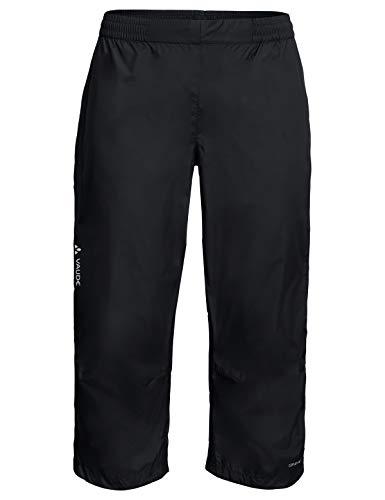 VAUDE Herren Drop 3/4 Pants Regenhose für Radsport, black, 52, 413560105400