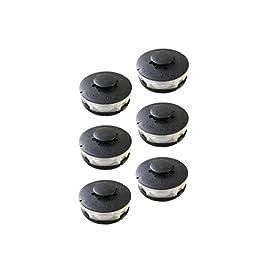 Lot de 6 bobines compatibles avec coupe-bordures/débroussailleuses électriques Einhell RTV 400, RTV 550, RTV 550/1.