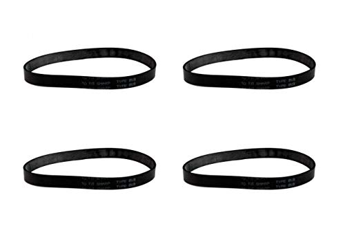 (4) Vacuum Belts Replacement for Sharp Twin Energy Upright Vacuum