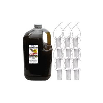 [正規輸入品] 無添加 狼尿(ウルフ) ガロンボトル 3.8L ※専用容器オマケ付き