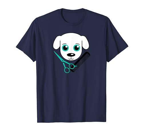 Tijeras de peluquería para perros con logotipo Camiseta