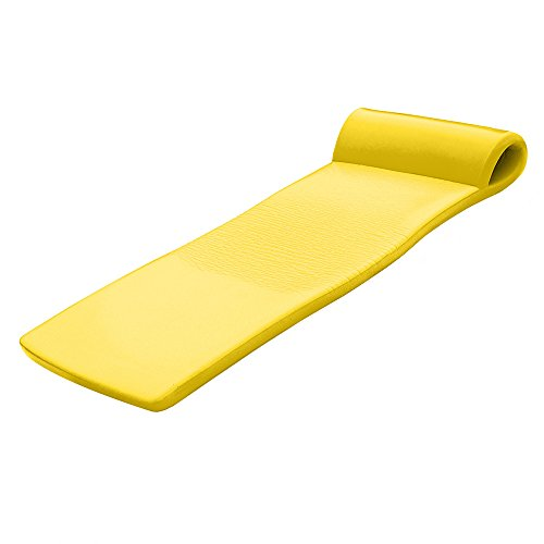 California Sun Deluxe Oversized Unsinkable Foam Cushion Pool Float - (Yellow)