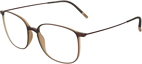 Silhouette Occhiali da vista URBAN NEO FULLRIM 2907 Matte Brown 50/17/0 uomo