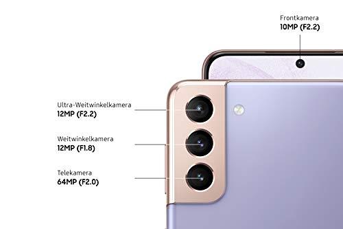 Samsung Galaxy S21+ 5G, Android Smartphone ohne Vertrag, Triple-Kamera, Infinity-O Display, 128 GB Speicher, leistungsstarker Akku, Phantom Violet - 3