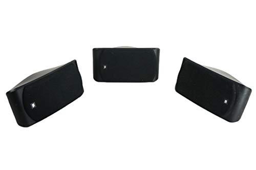 3X SCS 200 SAT Lautsprecher Boxen Satelliten Schwarz