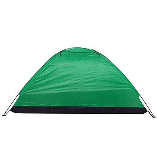 Faceuer Einpersonen-Biwakzelt, Camping Instant Zelt, Zelt für Outdoor-Camping, Wandern, Bergsteigen, Geeignet für Camping, Klettern, Angeln(Grün)