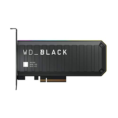 WD_BLACK 2TB AN1500 NVMe Internal Gaming Solid State Drive SSD Add-In-Card - Gen3 PCIe, Up to 6500...