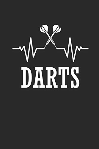 DARTS: NOTIZBUCH Dart Journal Darts Notebook squared 6x9 kariert