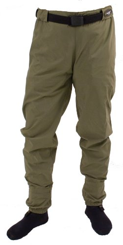 Frogg Toggs Hellbender Microfiber Breathable Stockingfoot Guide Pant, New Sage