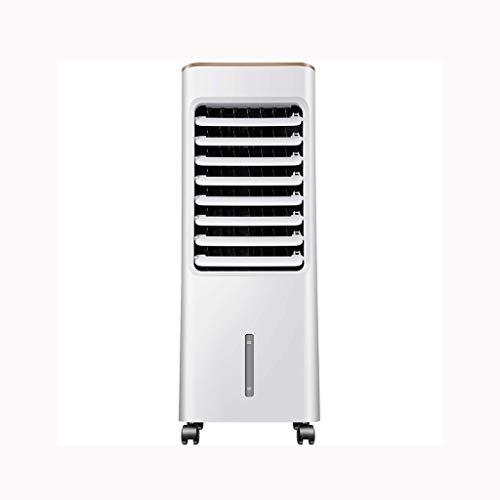 Climatiseur Portable for Voiture, Unité Climatiseur Espace Froid Silencieux Mobile Cooler Simple Cooler Espace Cooler Chambre Leafless Blanc (Couleur: Blanc) Huangwei7210