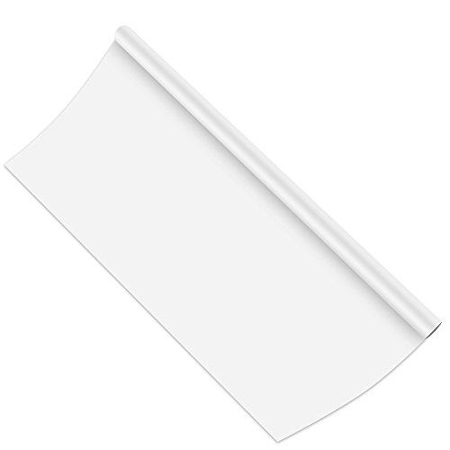 Fohil ホワイトボード 壁に貼るウォールステッカー 90*200cm 水性ペン付き(ホワイト)