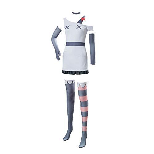 Animation Angel Dust Disfraz de Cosplay Charlie Cosplay Alastor Disfraz Hazbin Hotel Camisa Vestir Conjuntos de trajes para mujeres adultas Hombres Fiesta de Halloween