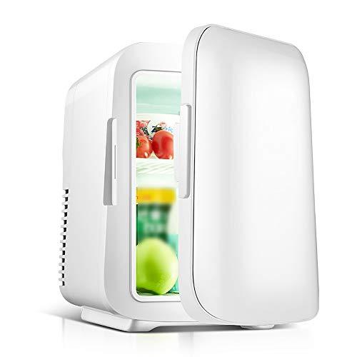 Coca-Cola Nevera Coche, Mini Refrigerador Refrigerador Portátil (20℃) Y Calentador (65℃) Refrigerador Personal para El Cuidado La Piel Cosméticos Alimentos Ideal para Dormitorio