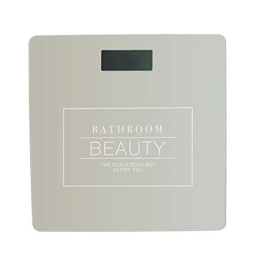 Vidal Regalos Bascula Digital Baño Essential Natural 28 cm