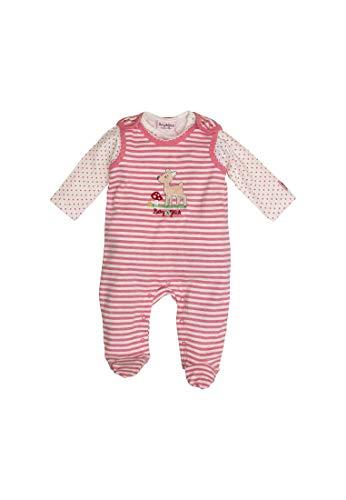 SALT AND PEPPER BG Playsuit Stripe R 853 Soft PINK - 056