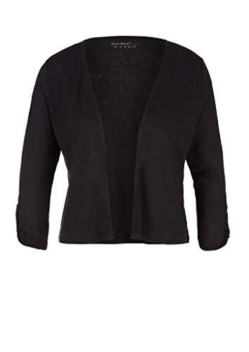 s.Oliver Damen 3/4 Arm T-Shirt, 9999 Black, 46