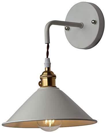 Apliques de Pared Vintage Metal Rusticos Lámpara de Pared Moderna Industrial Retro Apliques Pared LED para la Cocina, Desván, Restaurante, Cafe, Dormitorio y Pasillo Decoración(Bombillas No Incluidas)