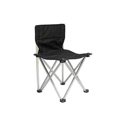 DISS Sillas para Exterior, Silla de Camping portátil, sillas Plegables ultraligeras compactas, para al Aire Libre, Campamento, Picnic, Barbacoa, Pesca (Color : A)