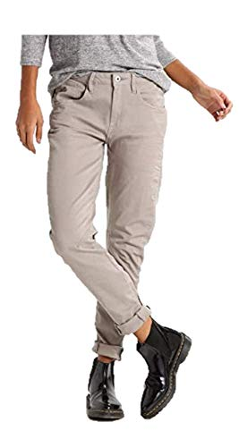 G-STAR RAW Damen Arc 3D Low Waist Boyfriend Colored Jeans, Grau (mercury 8733-1359), 28W / 32L