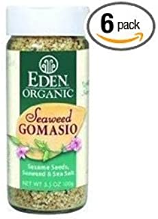 Eden Foods Organic Seaweed Gomasio - Sesame Salt, 3.5 Ounce - 6 per case