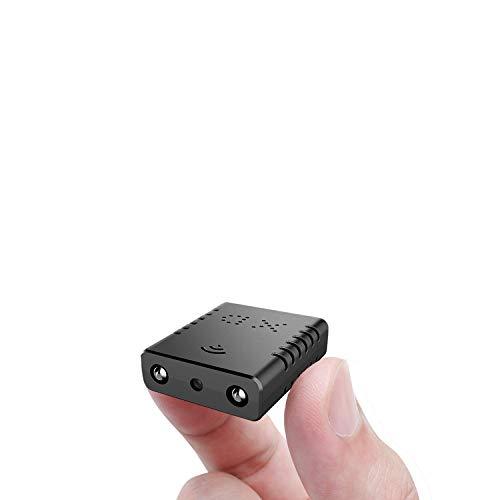 超小型WiFi 隠しカメラ RETTRU 防犯カメラ 監視カメラ 子供カメラ 乳母カメラ1080PP2Pカメラ IPカメラ 超高画質 無線 web スパイカメラ ワイヤレス 小型 軽量 隠しビデオカメラ ドライブレコーダー 車載 Wi-Fi WiFi対応 極小 赤外線 暗視録画機能付き 24時間 長時間録画 動体検知 屋内/屋外用 駐車監視 iPhone/Android/Windows PC/iPad対応 スマホ 遠隔監視・操作 日本語説明書付き