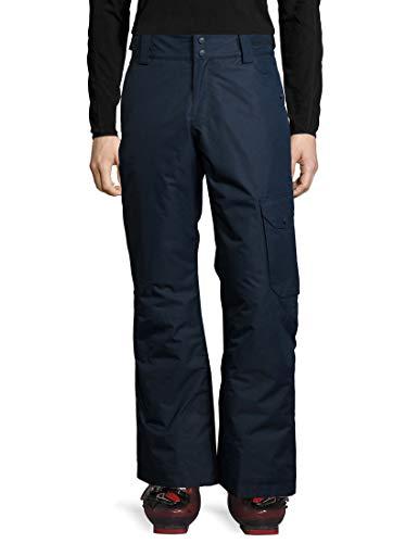 Ultrasport Advanced Cargo Pantalon de Ski Homme, Bleu (Navy), X-Large