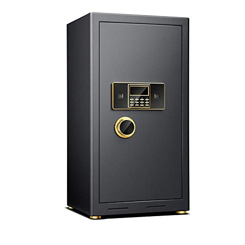 Liuxiaomiao Kluis 80CM Hoge Grote Ruimte Elektronische Veilige Bestand Data Opslag Thuis Kantoor Veilig Alle Staal Voor kantoren, woningen