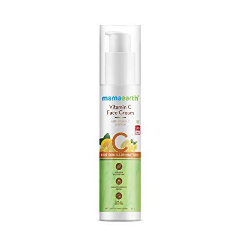 Mamaearth Vitamin C Face Cream with Vitamin C & SPF 20 for Skin Illumination – 50g