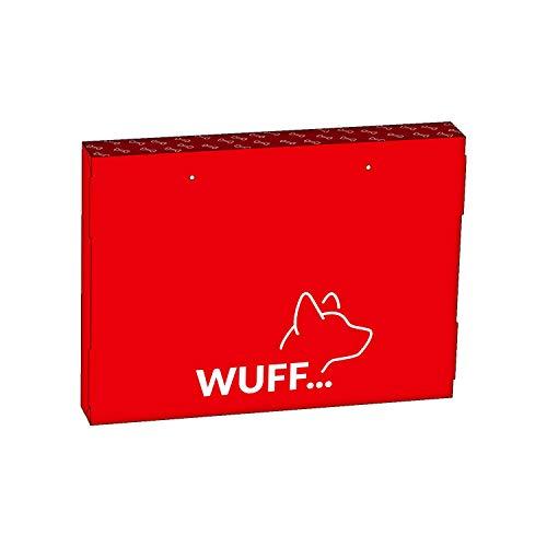"""Personalisierbarer Wuff WAU Adventskalender """"Super DOG"""" Hundekalender Special Edition Hund – mit Ritter Sport Schokolade befüllt - 6"""