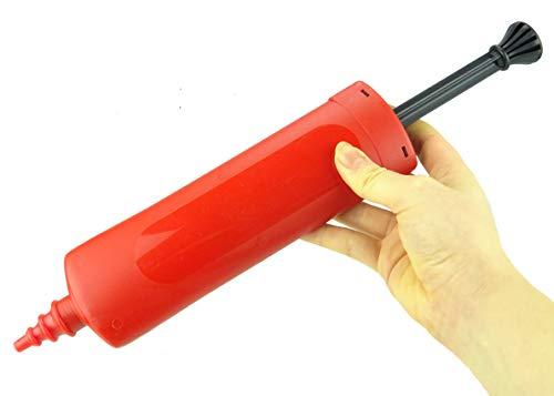 Toyland® 27,5 cm ballonpomp - geassorteerde kleuren - 1 willekeurig gekozen