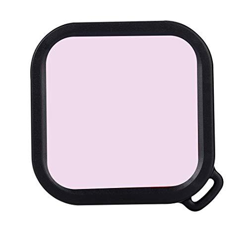 NANSHAN   CAMERAACCESSORIES Filtro de Color de Buceo Cuadrado para insta360 una versión R 4K / 1 Pulgada (Color : Rosado)
