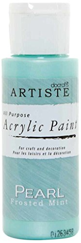 Artiste All Purpose Perlen Frosted Mint - Pintura acrílica, Color Menta