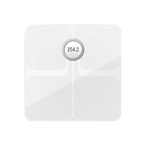 Fitbit Aria 2 Balance Wi-Fi Intelligente Compteur de Calories, Blanc