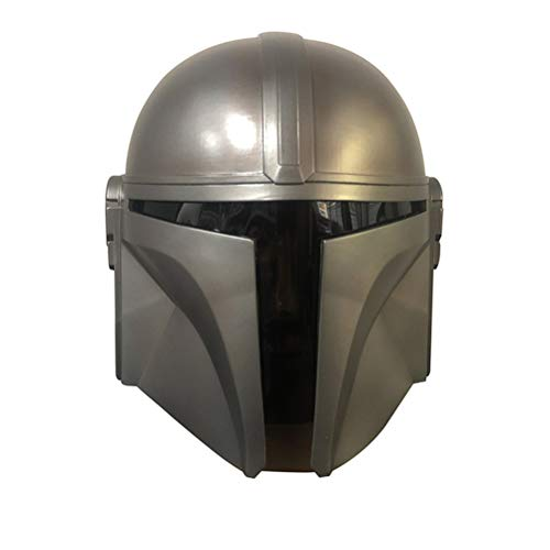 Kopfbedeckung, Mandalorian Helm, Full Face Latex Maske Halloween Party Helm...