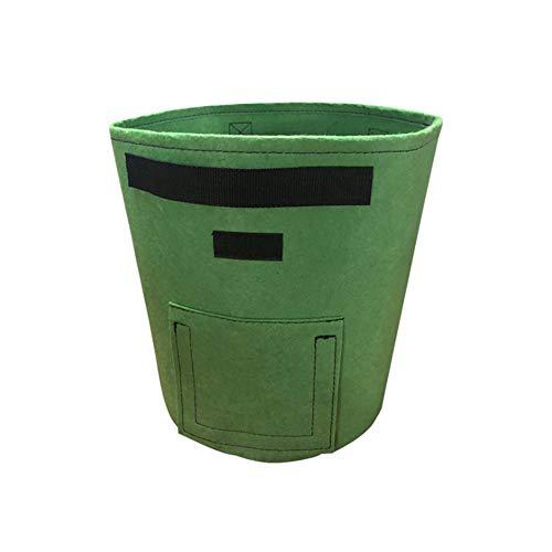 OOFAY 5 Pack Pianta Coltiva Borse 7/10 Gallon Tessuto Non Tessuto Planter Vasi Container Serra E La Germinazione Apparecchiature Impianto Contenitori Ed Accessori per Patate Pomodoro,M